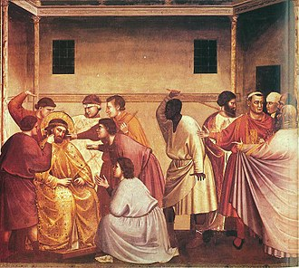 Flagellation of Christ - Image: Giotto Scrovegni 33 Flagellation