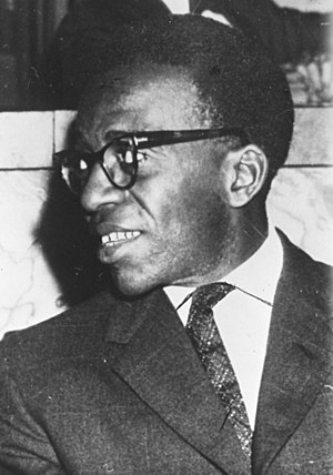 Free Republic of the Congo - Antoine Gizenga, leader of the Free Republic