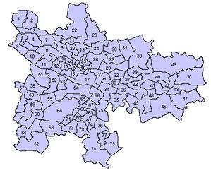 Glasgow City Council - Pre-2007 wards