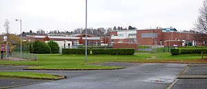Renfrewshire - Glencoats Primary in Ferguslie Park, one of Renfrewshire's fifty-one primary schools