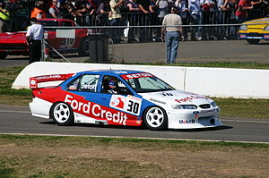 Supercars Championship - Glenn Seton's 1997 Ford EL Falcon, pictured in 2011