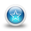 Glossy 3d blue star outline.png