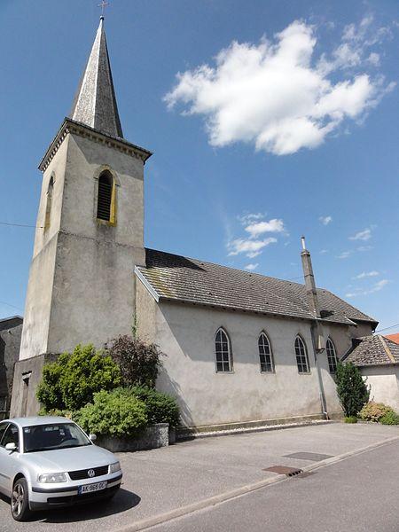 Gogney (M-et-M) église