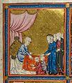 Golden Haggadah Jacob Blessing Ephraim and Manasseh.jpg