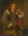 Gonzales Coques - Smell (Portrait of Lucas Faydherbe).tiff