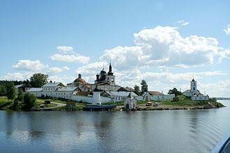 Sheksna River - Goritsky Monastery by the river