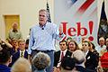Governor of Florida Jeb Bush at TurboCam, Barrington, NH on August 36th by Michael Vadon.jpg