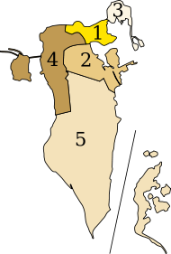 Governorates of Bahrain.svg