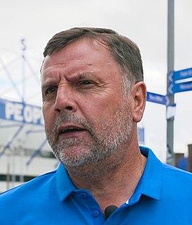 Graeme Sharp Scottish footballer and manager