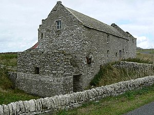 St Andrews, Orkney - Disused grain mill at Tankerness