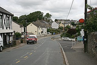 Grampound Road Human settlement in England