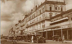 Grand Hotel (Kolkata) - The Grand Hotel (c. 1903).