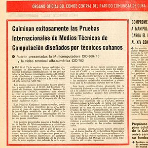 Propaganda in Cuba - Granma 27-10-1978