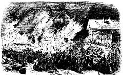 Great Fire in Brisbane, 1 December 1864.JPG