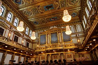 Gesellschaft der Musikfreunde - The Great Hall of the Musikverein
