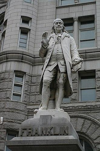 Benjamin Franklin (Jouvenal) - Image: Gregwashington 3