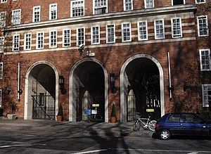 Dolphin Square - Grosvenor Road entrance to Dolphin Square