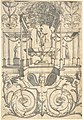 Grotesque with a Bacchus Fountain Placed in an Architectural Structure MET DP804959.jpg