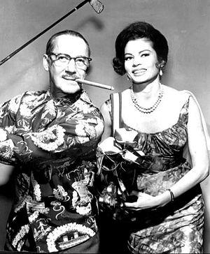 Eden Hartford - Groucho Marx and Eden Hartford