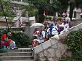 Group of Sani tour guides at Stone Forest 1.JPG