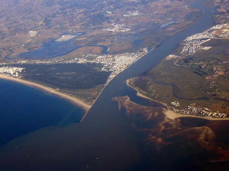Fichier:Guadiana Mouth.jpg