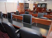 Guantanamo court room