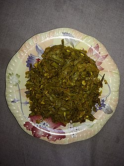 Guar Chibhad ji bhaaji is a popular Thari dish