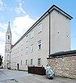 GuentherZ 2012-07-07 0081 Eggenburg Baptist-Stoeger-Platz01 Redemptoristenkloster.jpg