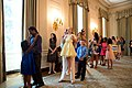 Guests line up in the State Dining Room.jpg