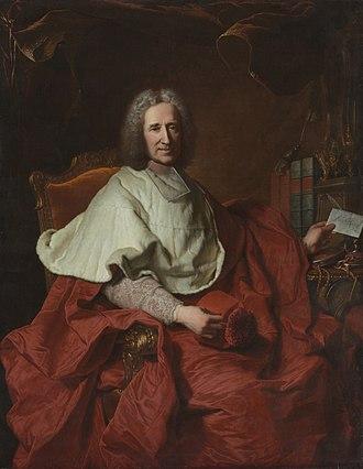 Guillaume Dubois - Cardinal Guillaume Dubois by Hyacinthe Rigaud (1700s)