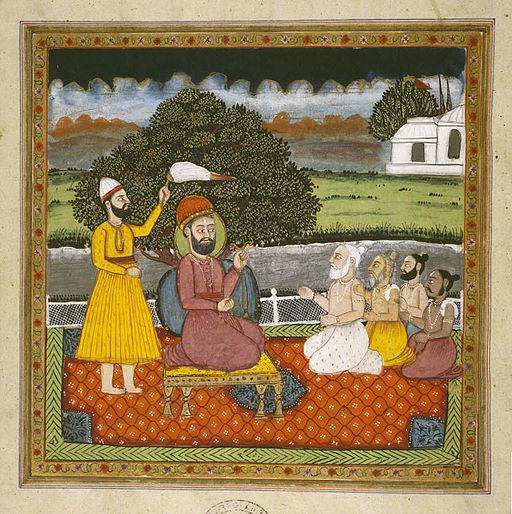 Guru.Nanak.with.Hindu.holymen