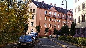 Sagene - Gustav Jensens gate near Det Rivertzke Kvartal