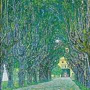 Avenue in Schlob Kammer Park, (1902)