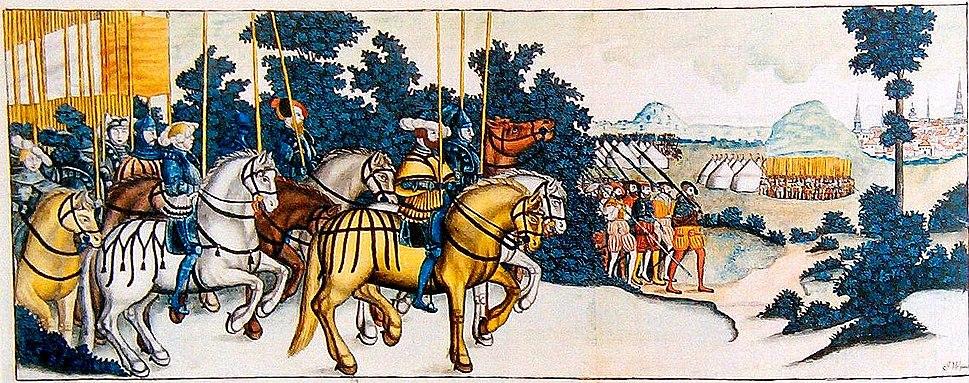 Gustav Vasa triumphs 4