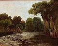 Gustave Courbet - Das Mühlwehr.jpg