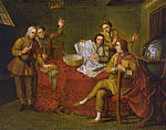 Gustavus Hamilton, 1710-46, 2nd Viscount Boyne, and Friends in a Ship's Cabin.jpg