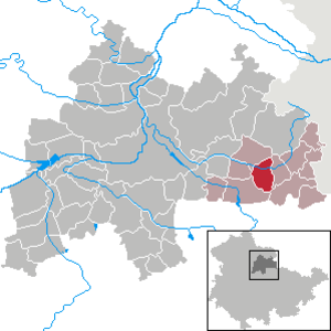 Guthmannshausen - Image: Guthmannshausen in SÖM