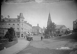 Gwalia square Llandrindod Wells