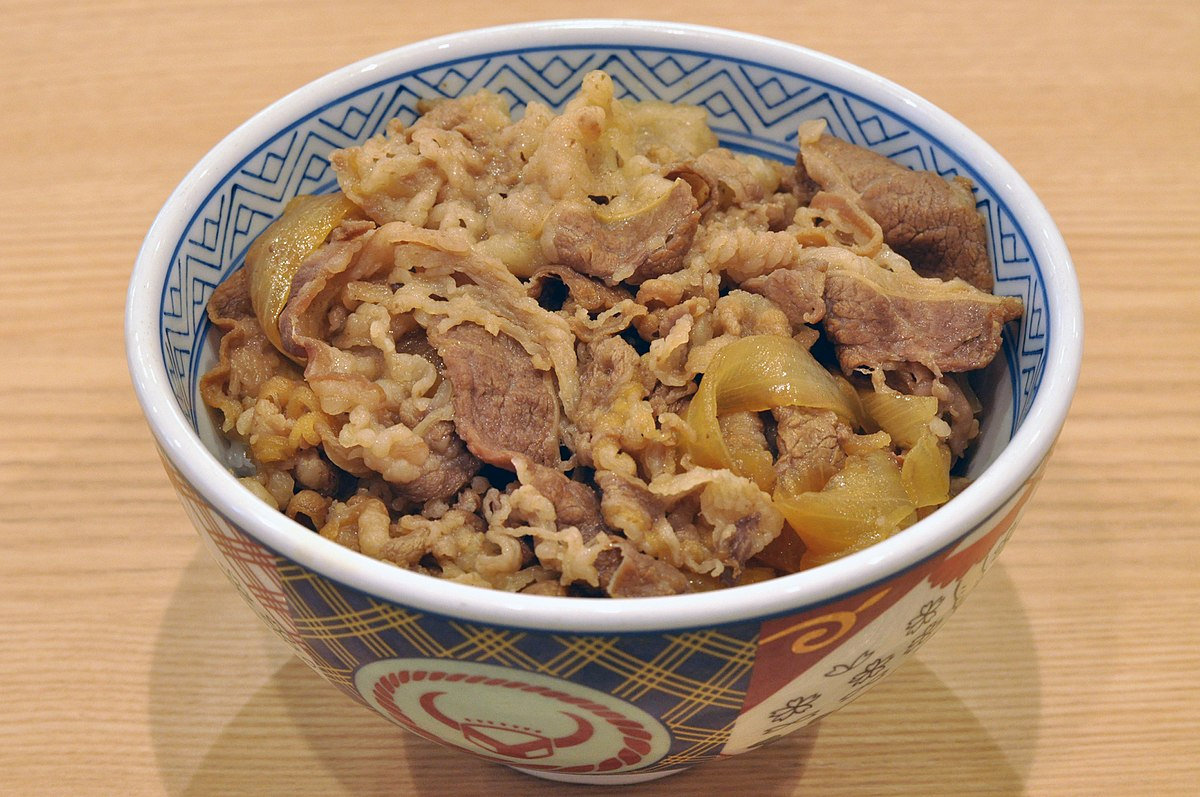 Image result for gyudon