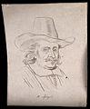 H. Spiegel; portrait. Drawing, c. 1793. Wellcome V0009252EL.jpg