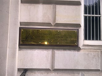 Macdonald House, London - Image: HC of Canada, London 2