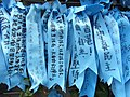HK Admiralty Tamar Square Ribbon message 027 Blue 9-Sept-2012.JPG