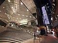 HK Central Gilman's Bazaar stairs night July 2020 SS2 02.jpg