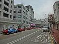 HK Ma Tau Wai 327 Prince Edward Road 聖德肋撒醫院 Saint Teresa's Hospital 九龍法國醫院 Pentland Street 品蘭街 Taxi strand carpark Feb-2013.JPG