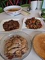 HK PFL 薄扶林水塘道 PFL Reservoir Road 香港傷健協會賽馬會傷健營 HKJC PHAB Association Jockey Club PHAB Camp Canteen food lunch meals chicken meat September 2019 SSG 02.jpg