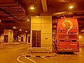 HK Queensway 金鐘地鐵站(東)巴士總站 Admiralty MTR Station (East) Bus Terminus Oct-2013 Bus 680 tail.JPG