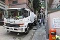 HK SW 上環 Sheung Wan 太平山街 Tai Ping Shan Street 磅巷 Pound Lane UD Truck Candor Euro 5 parking October 2017 IX1 head.jpg