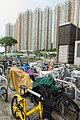 HK TKL 調景嶺 Tiu Keng Leng 翠嶺路 Chui Ling Road July 2018 IX2 08 維景灣畔 Ocean Shores n bike parking.jpg