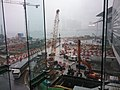 HK Wan Chai North 灣仔北 HKCEC 香港會展 view Convention Road Expo Drive construction site October 2016 SSD 02.jpg