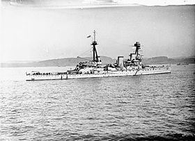 Die HMS Indomitable